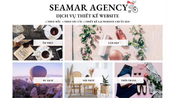 Dịch vụ thiết kế website Đà Nẵng Seamar