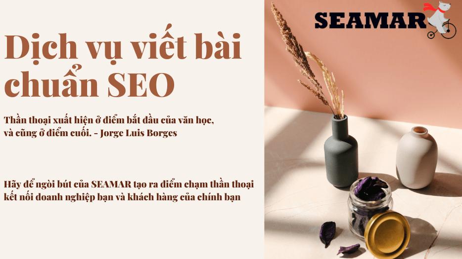 Dịch vụ viết bài chuẩn SEO Đà Nẵng