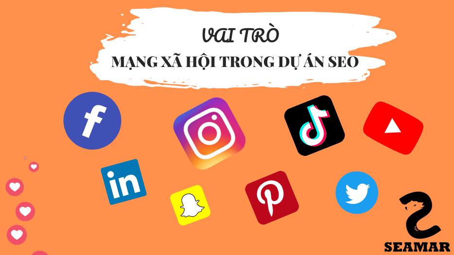 Vai trò của mạng xã hội trong dự án SEO - Seamar Agency