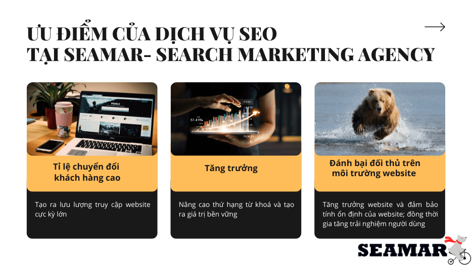 Ưu điểm của Dịch vụ Seo Đà Nẵng - Searmar Agency